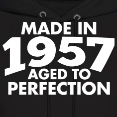 Made in 1957 Teesome Hoodies