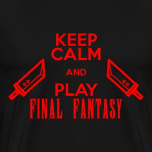 keep calm and play final - Men's Premium T-Shirt
