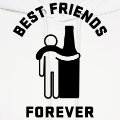 Men's Humor Best Friends Forever Hoodies