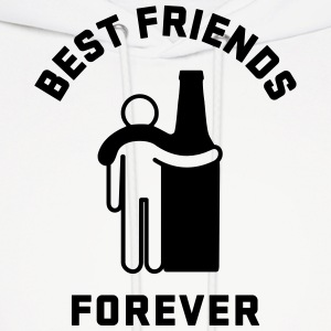 Men's Humor Best Friends Forever Hoodies - Men's Hoodie