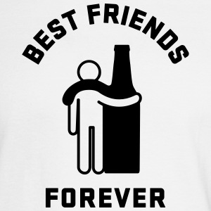 Men's Humor Best Friends Forever Long Sleeve Shirts - Men's Long Sleeve T-Shirt
