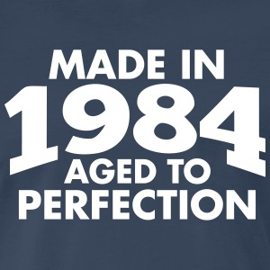 Made in 1984 Teesome T-Shirts - Men's Premium T-Shirt