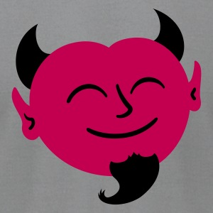 Friendly Satan T-Shirts - Men's T-Shirt by American Apparel