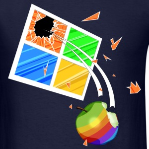 Windows vs Macintosh T-Shirts - Men's T-Shirt