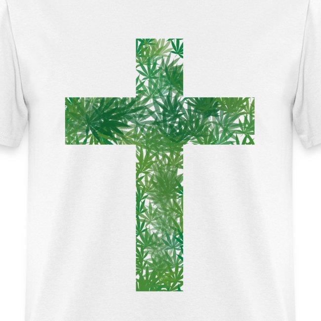 Cannabis Cross T-Shirt