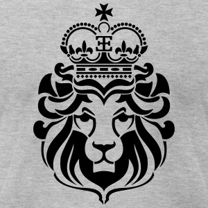 Lion of Zion T-Shirts - Men's T-Shirt by American Apparel