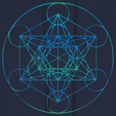 Metatrons Cube Hoodies