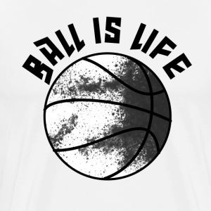 Ball is Life in Brooklyn T-Shirts - Men's Premium T-Shirt