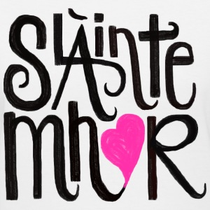 Slainte mhor heart - Women's V-Neck T-Shirt
