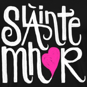 Slainte mhor heart - Men's Premium T-Shirt