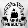 Results Gym Sports Quotes - Men's T-Shirt