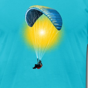 paragliding T-Shirts - Men's T-Shirt by American Apparel