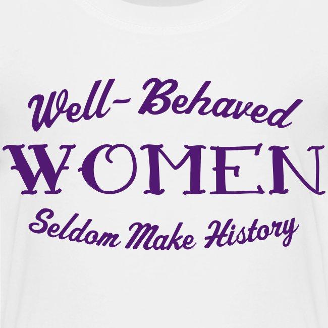 """Well-Behaved"" Premium Toddler T-Shirt"