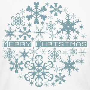 Merry Christmas Snowflakes Long Sleeve Shirts - Women's Long Sleeve Jersey T-Shirt