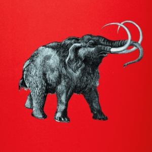 The mammoth, Primal elephants from the past. Accessories - Full Color Mug