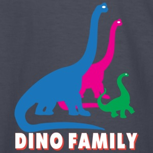Dino family Kids' Shirts - Kids' Long Sleeve T-Shirt