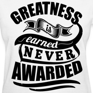Greatness Sports Gym - Women's T-Shirt