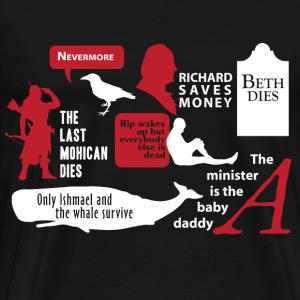 Spoilers: Early American T-Shirts - Men's Premium T-Shirt