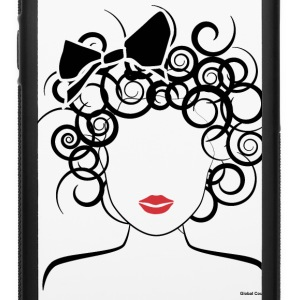 Global Couture logo_curly girl Accessories - iPhone 6/6s Rubber Case