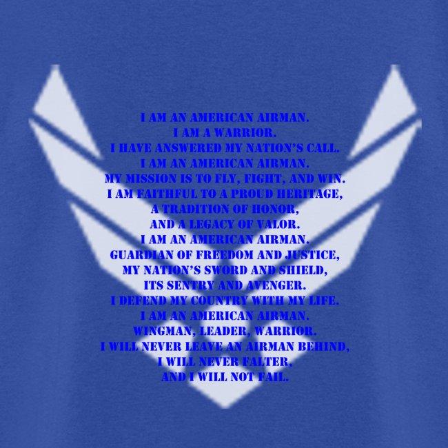 Military veteran pride us air force airmans creed shirt mens t shirt us air force airmans creed shirt altavistaventures Images