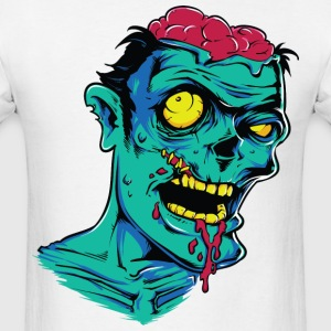 Zombie Brains T-Shirts - Men's T-Shirt
