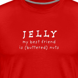 Jelly to Peanut Butter - Men's Premium T-Shirt