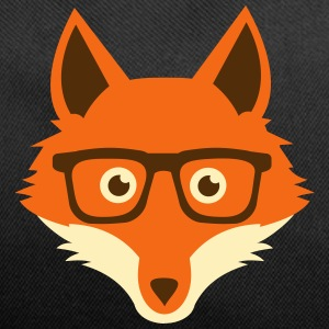 Sweet Funny hipster fox with nerd glasses Bags & backpacks - Duffel Bag