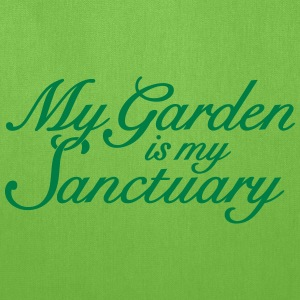 Garden Quote Bag Sanctuary - Tote Bag