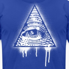 Illuminati Eye Graffiti T-Shirts