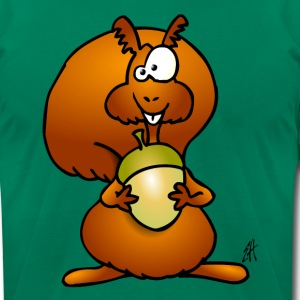 Squirrel T-Shirts - Men's T-Shirt by American Apparel