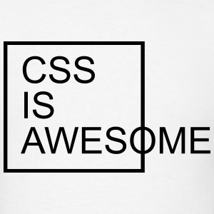 CSS Is Awesome  T-Shirts - Men's T-Shirt