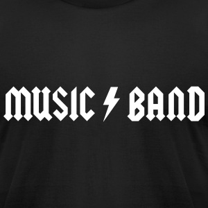 Generic Music Band T-Shirts - Men's T-Shirt by American Apparel