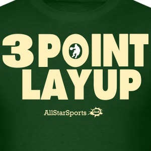 3 POINT LAYUP T-Shirts - Men's T-Shirt