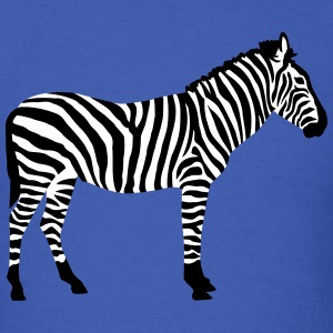 Zebra T-Shirts - Men's T-Shirt