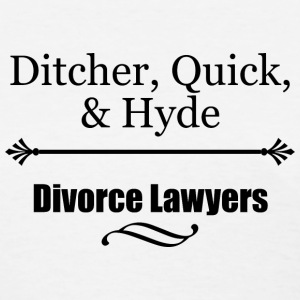 Divorce Lawyers Women's T-Shirts - Women's T-Shirt