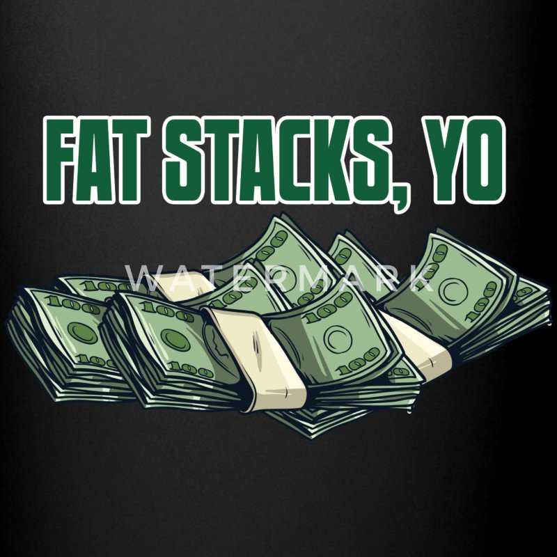 Fat Stacks, Yo Accessories - Full Color Mug