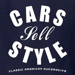 Kids T-Shirt | Cars Sell Style | Classic American  - Kids' T-Shirt