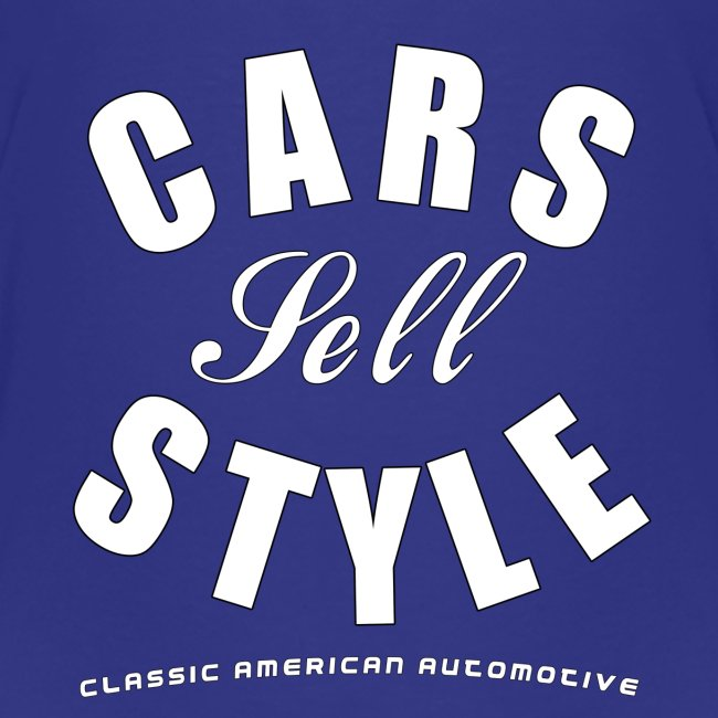 Toddler Premium T-Shirt | Cars Sell Style | Classic American Automotive