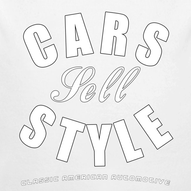 Baby Long Sleeve One Piece   Cars Sell Style   Classic American Automotive