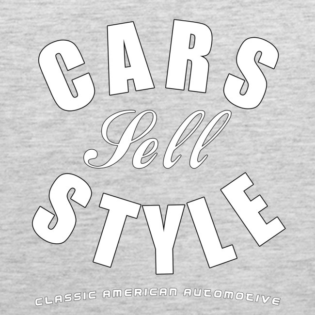 Men's Premium Tank Top | Cars Sell Style | Classic American Automotive