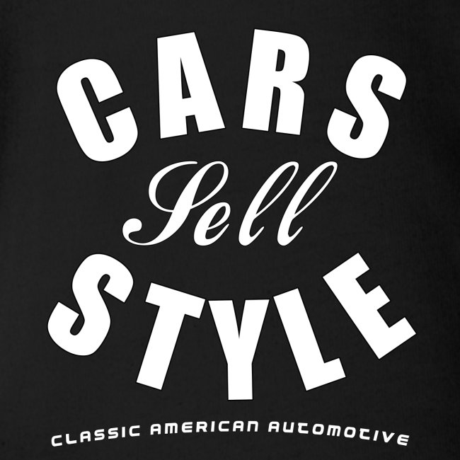 Baby Short Sleeve One Piece | Cars Sell Style | Classic American Automotive