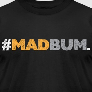 MadBum Period SF Giants black t shirt - Men's T-Shirt by American Apparel