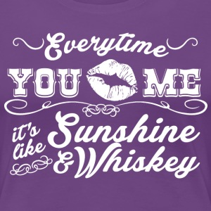 Sunshine & Whiskey - Women's Premium T-Shirt
