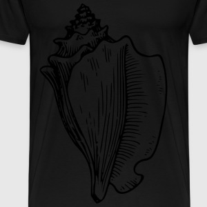 conch large snail - Men's Premium T-Shirt