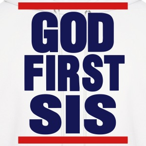 GOD FIRST SIS Hoodies - Men's Hoodie