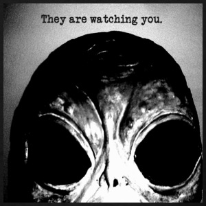 ALIEN They are Watching You - Men's T-Shirt