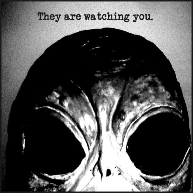 They are Watching Your - Alien
