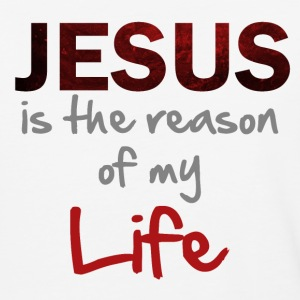 The reason of my life-(men) T-Shirts - Baseball T-Shirt