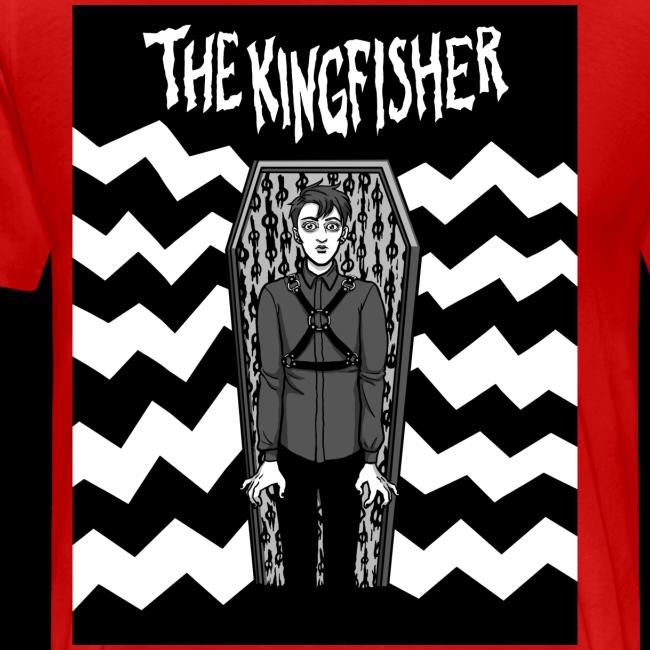 Kingfisher - Expressionist - BLACK + WHITE SHIRT