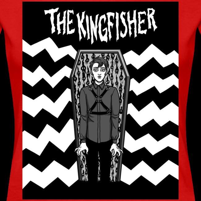 Kingfisher 4 laydeez - Expressionist - BLACK + WHITE SHIRT